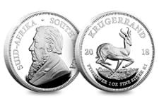 This Silver Proof 1oz Krugerrand is only the second time that the South African Mint have created this famous coin in Silver. Edition limit of 15,000 worldwide.