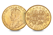 This Bank of Canada Hoard is one of the first gold coins ever produced in Canada.